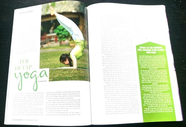 cảm hứng từ yoga