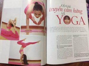 truyền cảm hứng về yoga