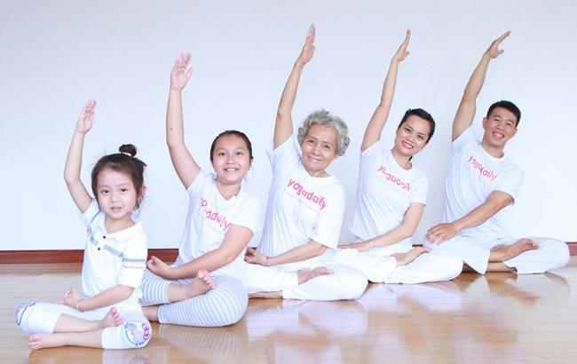 yoga người cao tuổi, yoga trị liệu