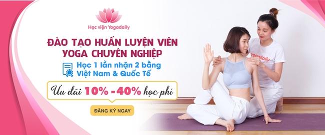 Khóa học huấn luyện viên yoga