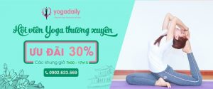 tập luyện yoga thường xuyên
