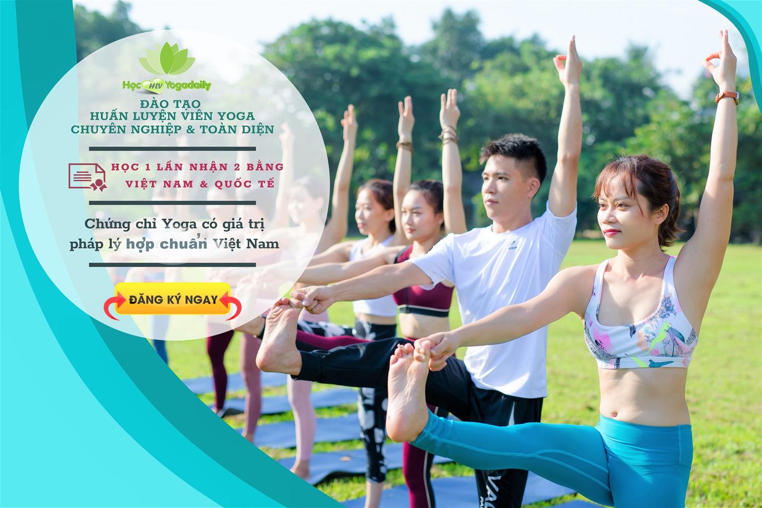 Khóa học HLV Yoga