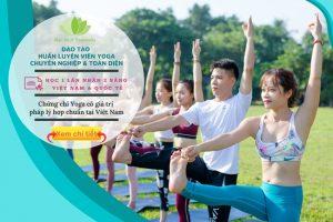 Đào tạo huấn luyện viên yoga online & offline