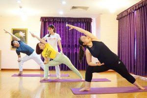 Tập Yoga miễn phí