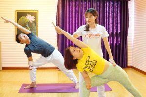 Bài tập Yoga khỏe cơ, đẹp dáng