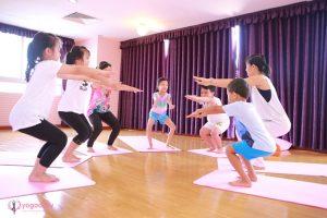 Yoga kids - Sân chơi hè bổ ích cho các bé