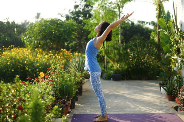 hlv yoga Bùi Châu Đảo tập yoga