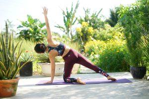 bó cơ khi tập yoga
