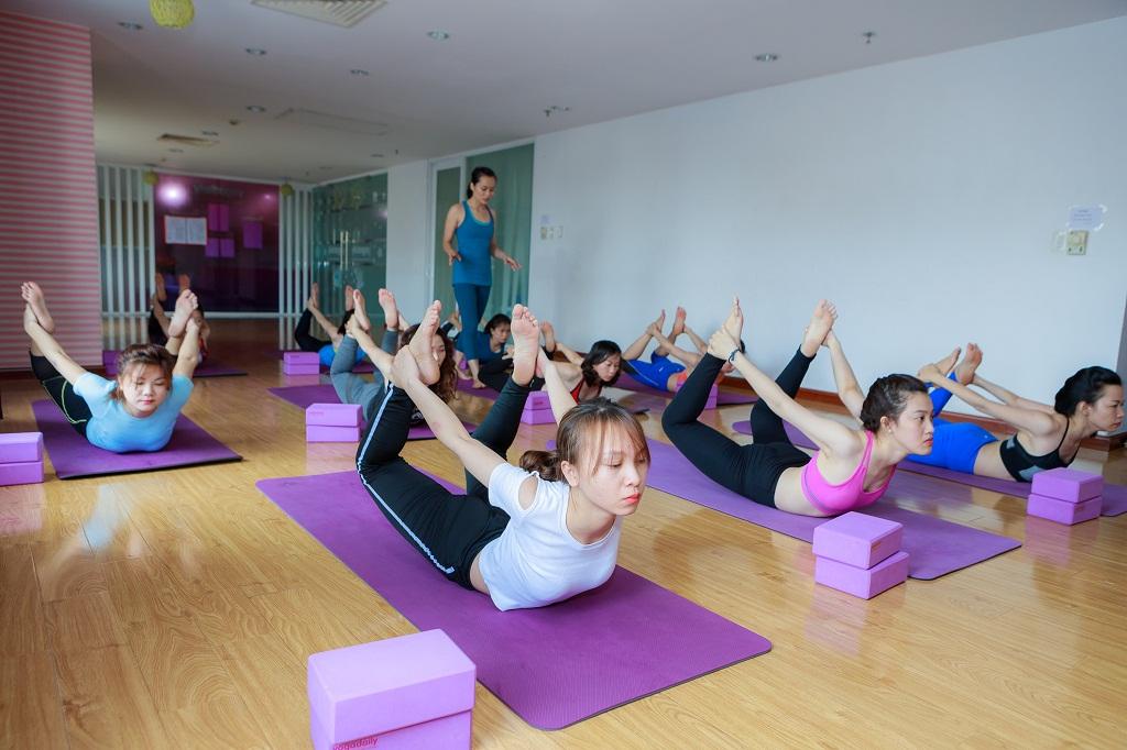 huấn luyện viên yoga yogadaily khóa 23