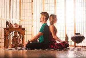 Điều tuyệt vời từ Yoga đôi