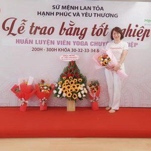 HLV Yoga Lê Thị Thu Hương
