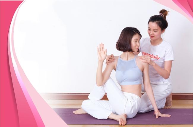 HLV Yoga dạy kèm 1-1