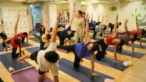 Lớp tập yoga mỗi ngày, Trung tâm Yogadaily Phú Nhuận Bình Thạnh
